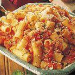 rigatoni sauce tomate