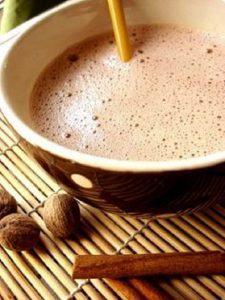 Recette Chocolat chaud à la créole