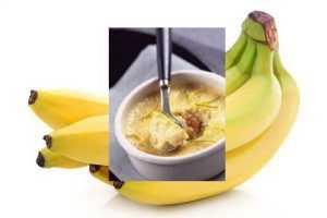 Recette flan à la banane