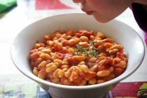Recette Haricots blanc à la tomate