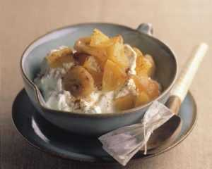 recette de compote pomme banane au thé