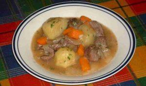 Recette Irish stew