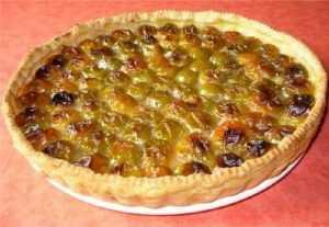 Recette tarte aux prunes à l'ancienne