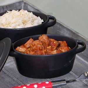 Recette agneau aux poivrons et sauce au paprika