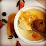 Recette Crème brûlée vanillée aux poires