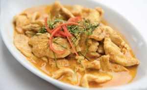 Recette Curry de poulet au piment thailandais