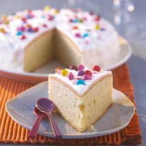 Gâteau d'anniversaire facile