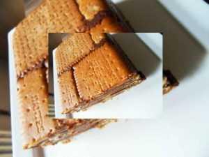 Gâteau petits-beurres sans oeuf