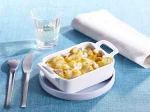 Recette gratin de pommes de terre au merlan