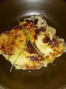 Recette Omelette chèvre, épinard et lardons