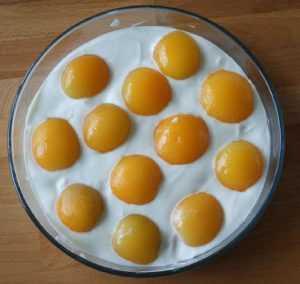 Recette abricots sur le plat