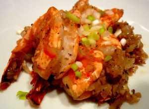 Recette Crevettes poivre et sel