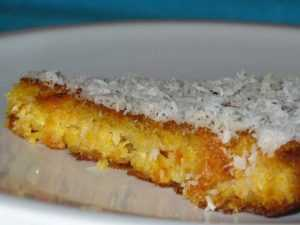 Recette Gâteau de carotte et coco de Nouvelle-Zélande
