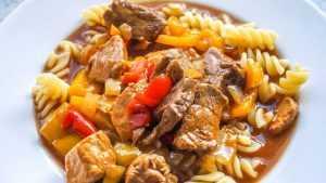 Recette goulash slovaque
