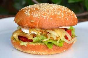 Recette hamburger végétarien