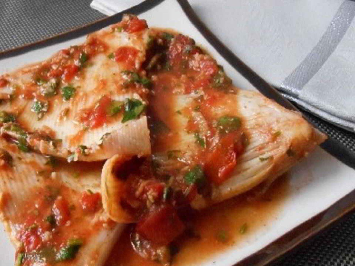 Raie En Sauce Tomate Recettes Et Terroirs