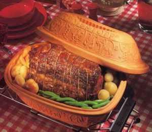 Recette Rôti de porc en Romertopf