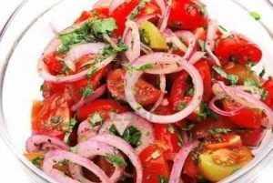 Recette Salade swahili - kachumbari