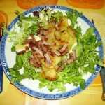 Recette Salade vosgienne traditionnelle