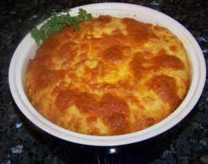 Recette Soufflé de pomme de terre et thon
