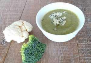 Recette Soupe de brocoli au roquefort