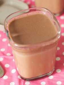 Recette yaourt au chocolat ou lait emprésuré au chocolat