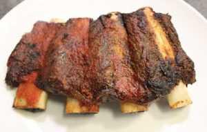 Recette Travers de porc grillés