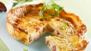 Recette Tarte légère poireaux dinde et fromage blanc
