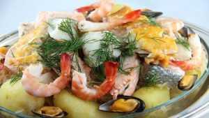 Recette Choucroute de poisson