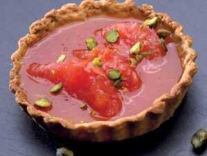 Recette Tartelette au pamplemousse rose