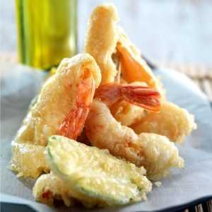 Recette tempura de langoustines