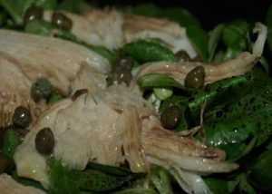 Recette salade de raie