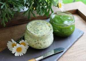 Recette Beurre vert aillé charentais