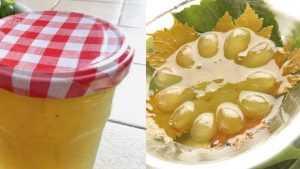 Recette Gelée de vin de Savoie à la pomme et au raisin
