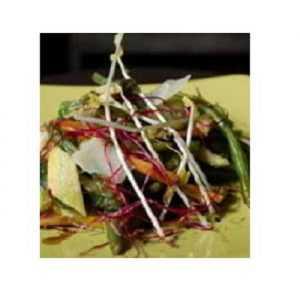 Recette Légumes croquants en salade