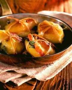 Paupiettes de pommes de terre au Jambon de Savoie et Beaufort