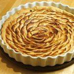 tarte aux pommes minute
