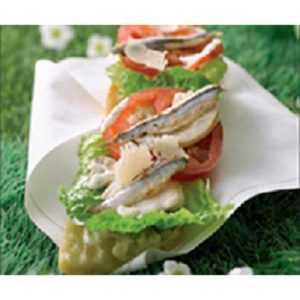 Recette tartine light salade poulet