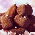 truffes au chocolat et loukoum
