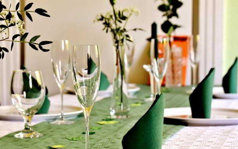 Décoration de la table