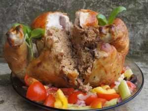 Recette poulet farci à la polonaise