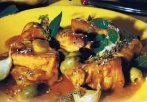 Recette Sauté de veau aux olives de Corse