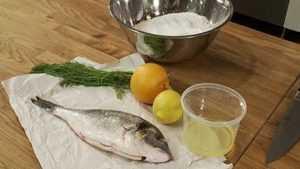Recette Daurade en croûte de sel