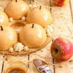 dome mousse caramel et pommes