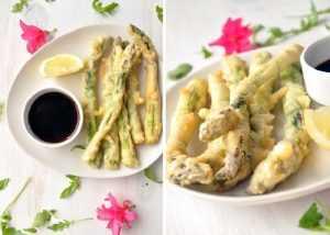 Recette tempura d'asperges