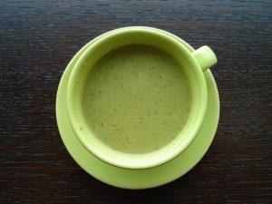 Recette soupe de mâche