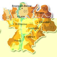 dpt Rhône Alpes