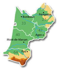 dpts Aquitaine