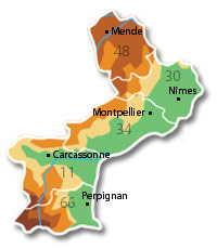 dpts Languedoc Roussillon
