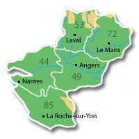 dpts Pays de la Loire
